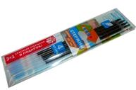 Стержни 614 синие с ушками набор 3шт+1 красный в подарок, 107мм, 0, 7 /120 /0 /1200 /0