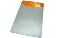 Бейдж Т-091 вертикальный пластик, 74*104 оранжевая вставка J. Otten /10 /100 /2000