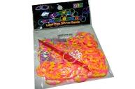 Набор Плетение из резинок РJ06 двухцветные+крючок, 200 шт /100 /0 /1800 /0