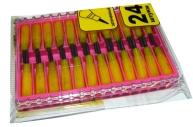 Стержни для кассет/карандаша, 101, 24 шт /100 /0 /1200 /0