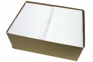 Перфорированная бумага 210мм (1-сл., шаг 12, белизна 95%) 1220м/кор~~