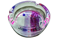 Пепельница стеклянная 500 евро
