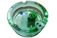 Пепельница стеклянная 100 евро