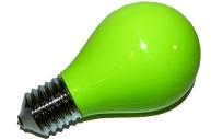 Пепельница в виде лампочки зеленая