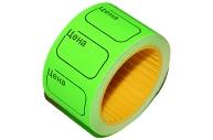 Ценник ролик. 30*20мм (200эт) /зеленый