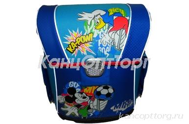 ранец с эргономичной спинкой Mickey Футбол ( модель Ergo ) разноцветный