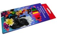 карандаши 12цв Феи и невиданный зверь разноцветный