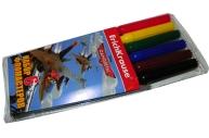 фломастеры 6цв Flying Planes разноцветный