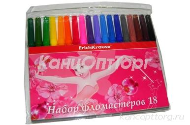 фломастеры 18цв Tink Pink разноцветный