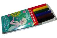фломастеры 6цв Elsa разноцветный