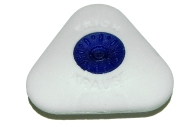 ластик с центровкой SMART&SOFT MINI треугольный белый