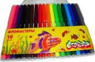 Фломастеры 18цв Каляка-Маляка