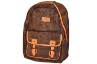 Рюкзак TIGER COLLEGE 43x31x19 см ткань уплотн. спинка жестк. каркас 19 л ассорти