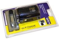 Печать самонаб 1, 5-круг оттиск D=40мм синий GRM R40 plus, крышка, КАССА В КОМПЛЕКТЕ, европодвес