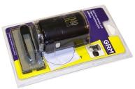 Печать самонаб 2-круг., оттиск D=40мм синий GRM R40 plus, крышка, КАССА В КОМПЛЕКТЕ, европодвес