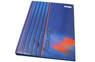 Книга учета, твердый переплет с припресс., офсет,  кл., 96 л.,  (УЛЬЯНОВСКИЙ ДОМ ПЕЧАТИ)