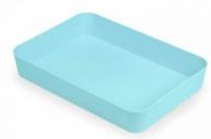 Лоток хозяйственный большой голубой Pastel ЛТ592
