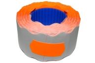 Этикет-лента МЕТО большая универсальная (волна) 26х12 (700эт. /200рол. ) оранжевая