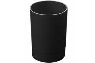 Подставка-органайзер СТАММ (стакан для ручек), 70*70*90 мм, черный,