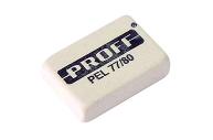"""Ластик """"PROFF"""" (77) 80шт/уп в коробке белый"""