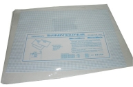 Папка-карман с молнией сбоку, ф. B4, толщина 0, 18мм