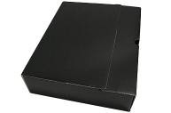 Лоток-коробка архивный, микрогофрокартон, 250x75x315 мм, чёрный, уп-ка 5 шт, цена за 1 шт,  (SPONSOR)