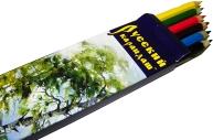 """Карандаши цветные Русский карандаш """"Сказки"""", 06цв., заточен., картон, европодвес"""