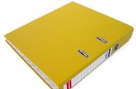 """Файл 50мм """"Стандарт"""" желтый"""