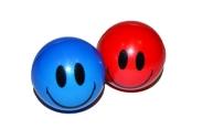 Мяч «Смайлик», мягкий, 4, 5 см, цвета МИКС