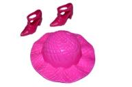 Аксессуары для кукол: шляпа, туфли, МИКС