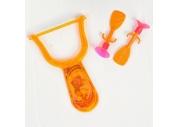 Рогатка «Головоломка», 2 присоски, цвета МИКС