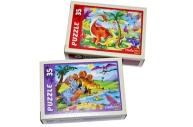 Пазл 36 элементов «Эра динозавров»