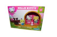 1toy Hello Kitty, Игр. наб. : качели, 2 фигурки, 17, 78*7, 62*12, 7 см, кор.