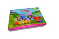 1toy Мой маленький мир игра-констр. 56 дет.  (2 дер., 2 пальмы, 2 мельницы, 2 дома, меб., накл. ), кор.